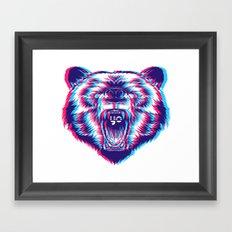 yo bear Framed Art Print
