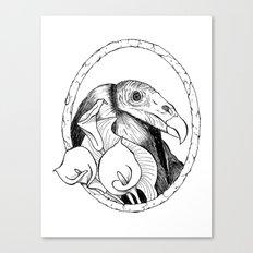 Mr. Vulture Canvas Print