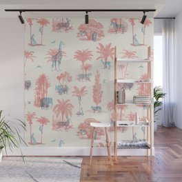 Where they Belong - Pastel Colors Wall Mural