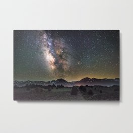 Milky Way, USA Metal Print