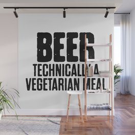 Beer Technically A Vegan Meal Wall Mural