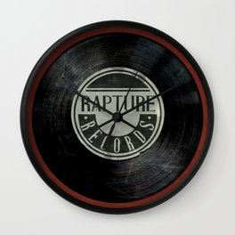 Bioshock Rapture Records Clock Wall Clock