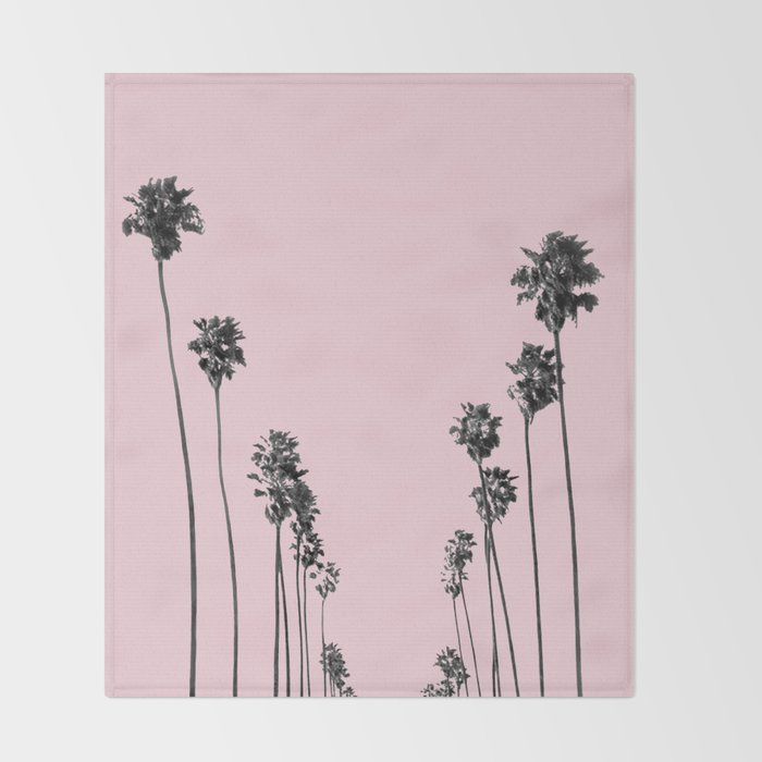 Palm trees 13 Throw Blanket