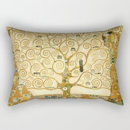 Gustav Klimt - Tree of Life Rectangular Pillow