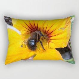 Black bee Rectangular Pillow