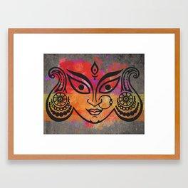 The indian heart Framed Art Print