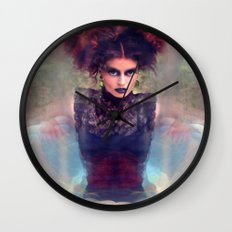 Dark Beauty  Wall Clock