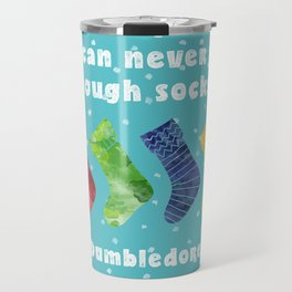 One can never have enough socks. Dumbledore Travel Mug