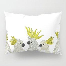 Cockatoos by Veronique de Jong Pillow Sham