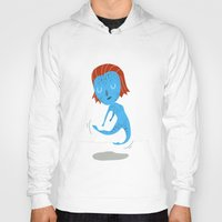 nightcrawler Hoodies featuring Mystique by Rod Perich