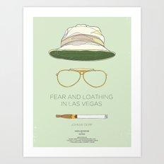 Dress The Part - Fear & Loathing in Las Vegas Art Print