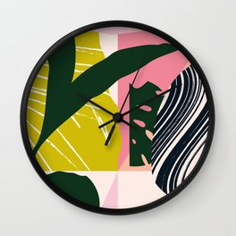 Tropical West Wall Clock