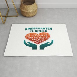 Kindergarten Teacher Rug