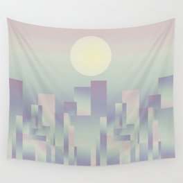 Opalescent dawning Wall Tapestry