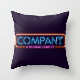 Company - A Musical Comedy Throw Pillow