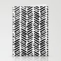 Simple black and white handrawn chevron - horizontal by simplicity_of_live