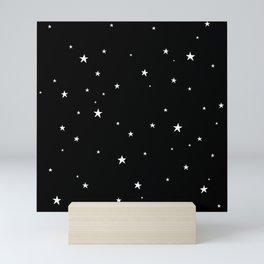 Tiny Stars Dark Mini Art Print
