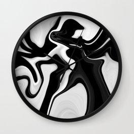 ASTRACT LIQUIDS VII Wall Clock