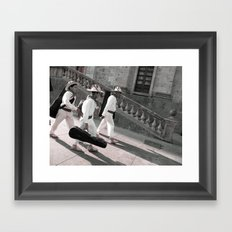 Huicholes from Guadalajara  Framed Art Print