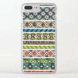 Mosaic N°2 Clear iPhone Case