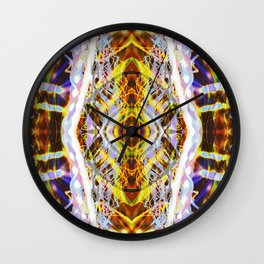 Light Dance Kaleidoscope Edit 2 Wall Clock