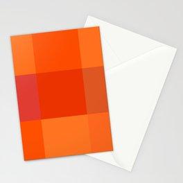 Orange palette Stationery Cards