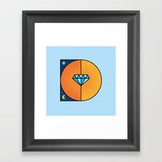 D like D Framed Art Print