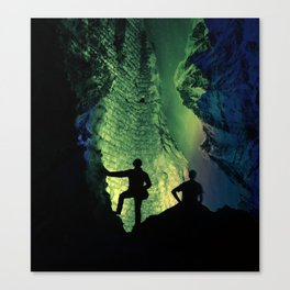 no lights to climb Canvas Print