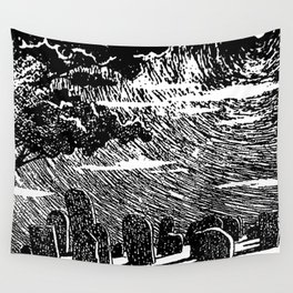 Fox Cemetery Wall Tapestry