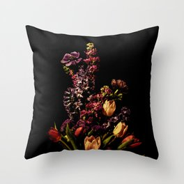 Portrait of Spring Throw Pillow