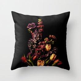 Portrait of Spring Throw Pillow