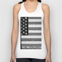 flag Tank Tops featuring Flag by Keith Dotson