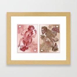 #NoFilter Valentine by Wylie Beckert Framed Art Print