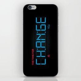 CH:AN:GE iPhone Skin