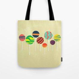 Sweet lollipop Tote Bag