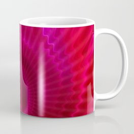 Red Power Wave Coffee Mug