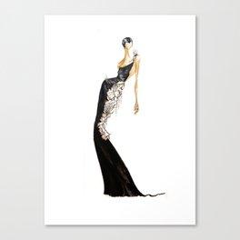 Black|Light Canvas Print