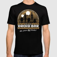 Droid Bar Mens Fitted Tee Black LARGE