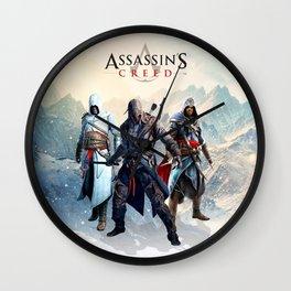 Assassin Wall Clock