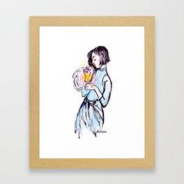 Light Worker Framed Art Print