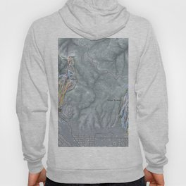 Big Bear Resorts Trail Map Hoody