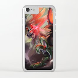 Silvally Clear iPhone Case