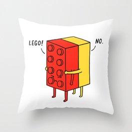 I'll Never Le Go Throw Pillow