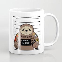 Prison Sloth Coffee Mug