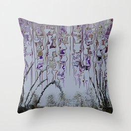 Weeping Truth Throw Pillow