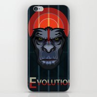 planet of the apes iPhone & iPod Skins featuring Dawn of the Apes by milanova