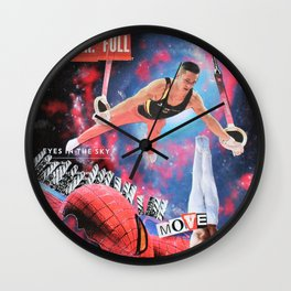 Power Full Move Wall Clock