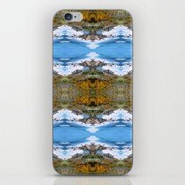 Seaside walking iPhone Skin