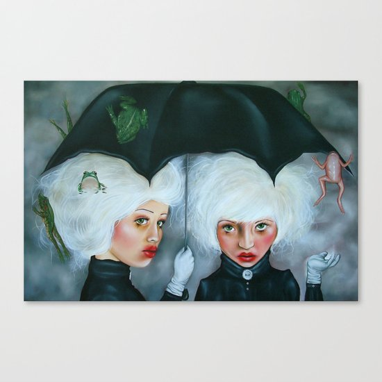 Heavy Enough to Fall Canvas Print