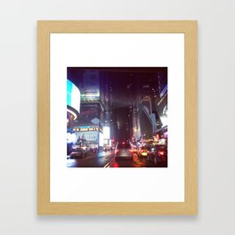 Times Sq. Framed Art Print
